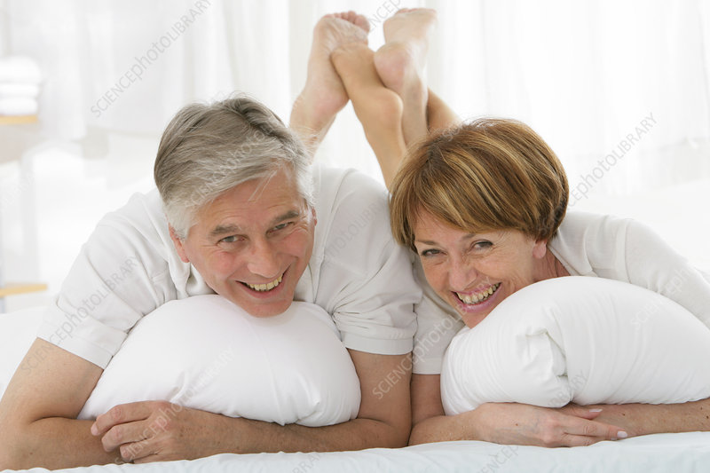 Couple in their 50s, inside