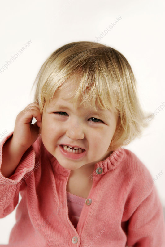 Otitis in a child