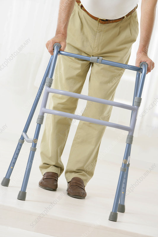 Walker for elderly person