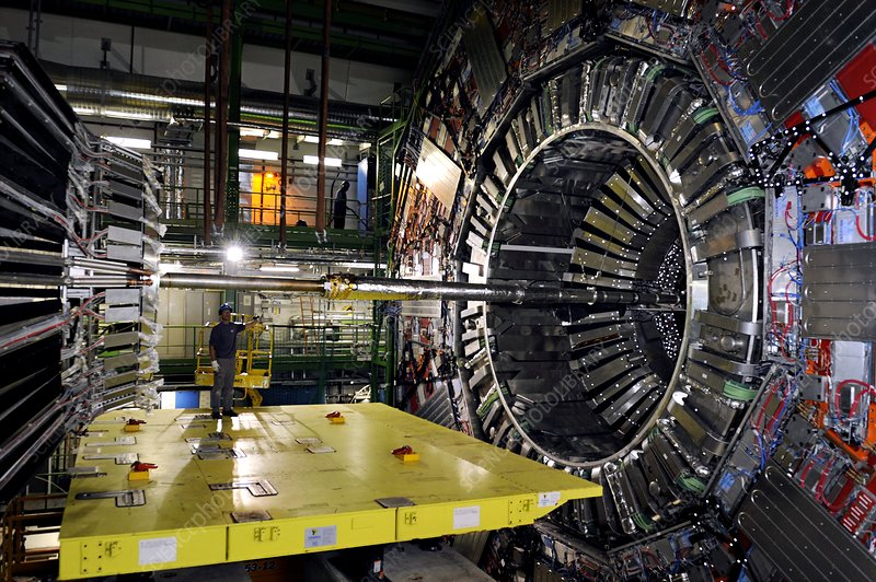 Large Hadron Collider detector