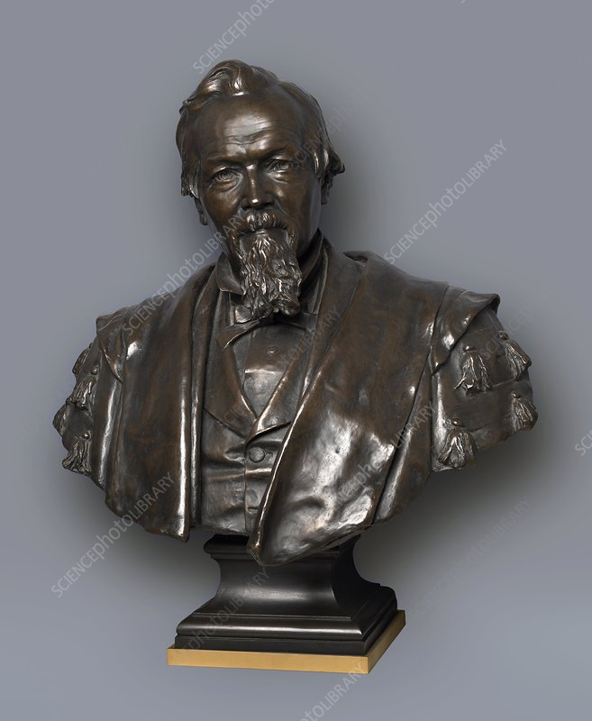 Bust of James Marshall, industrialist