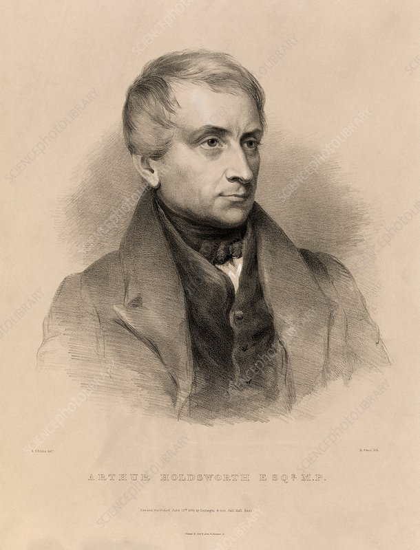 Arthur Holdsworth, merchant and inventor