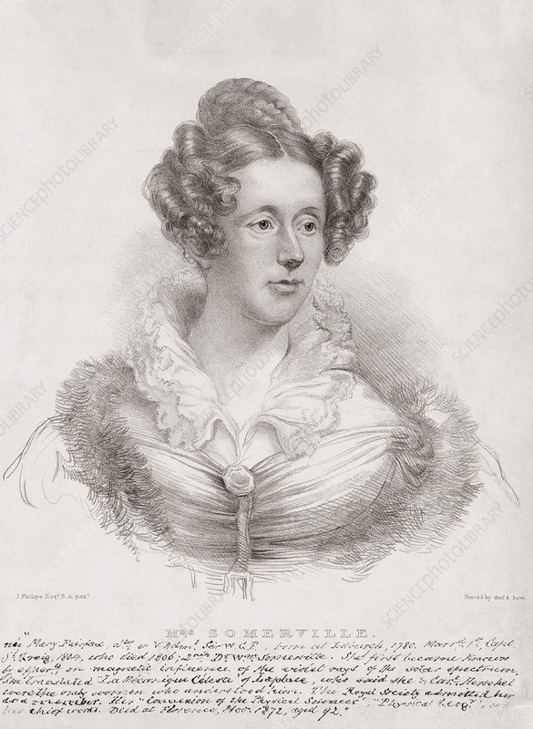 Mary Somerville, Scottish mathematician