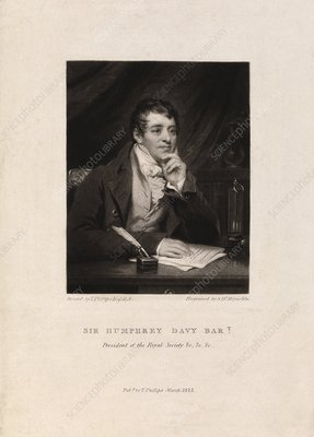 Humphrey Davy, English chemist