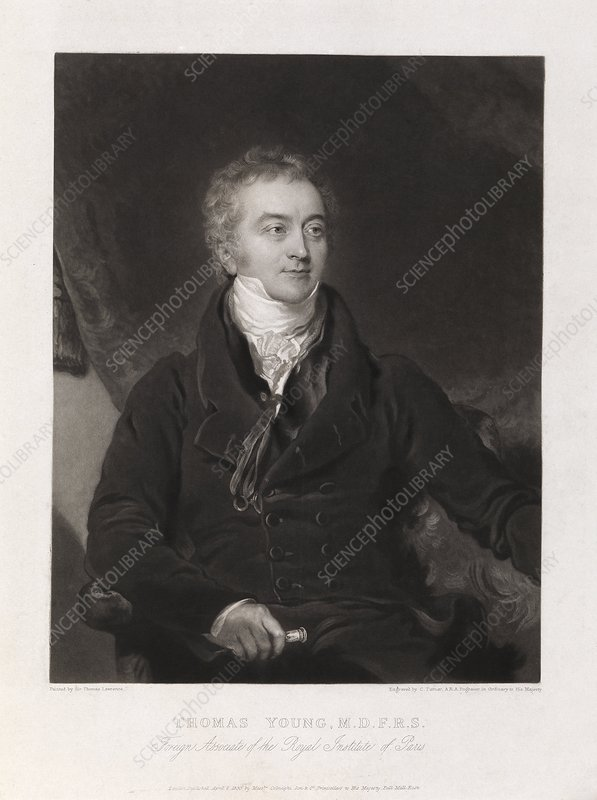 Thomas Young, English physicist
