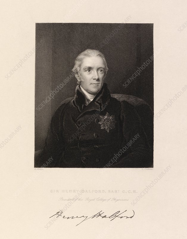 Henry Halford, English physician