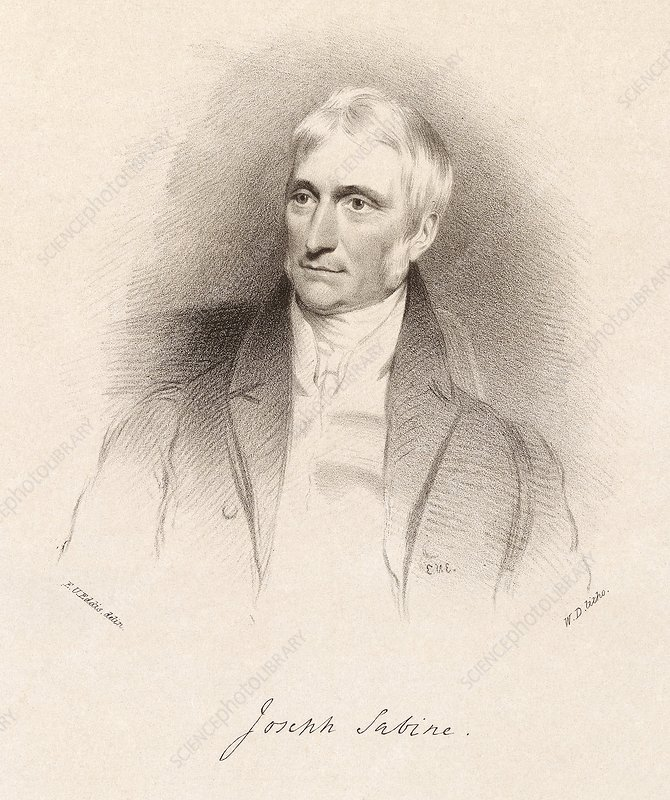 Joseph Sabine, English naturalist