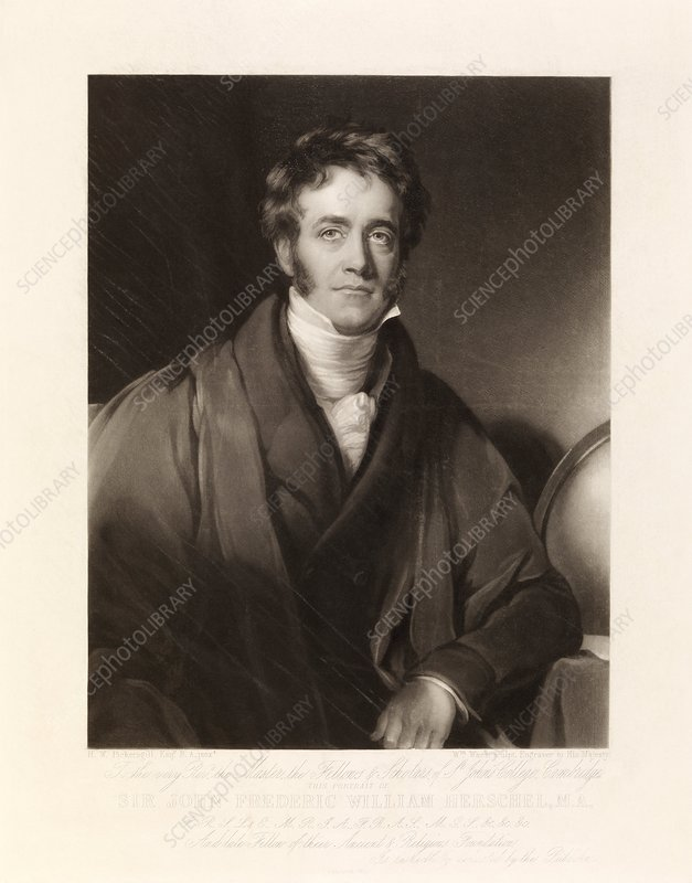 Sir John Herschel, British astronomer