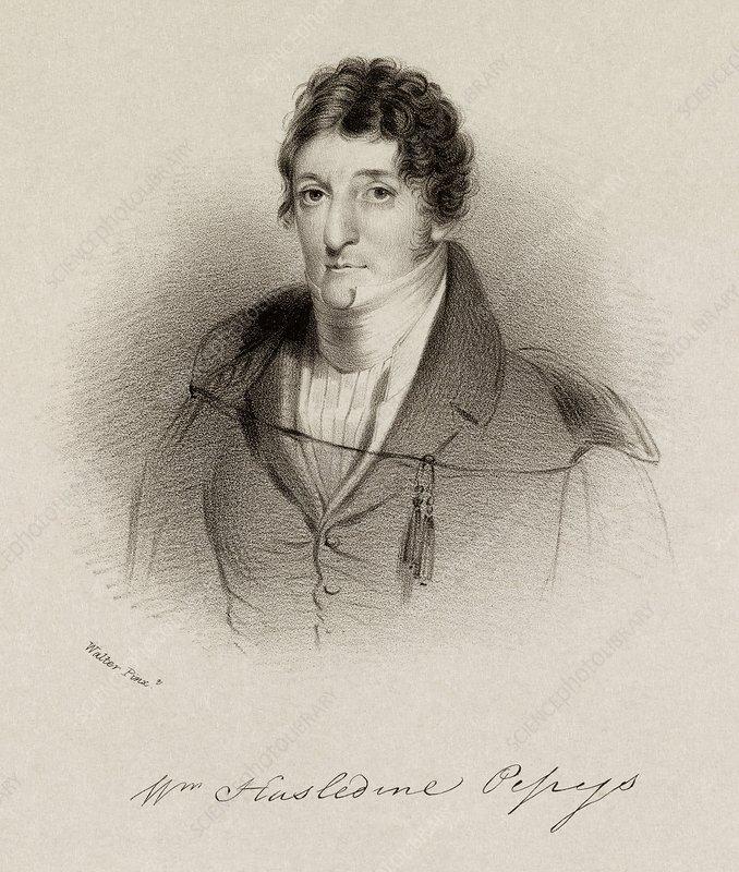 William Pepys, English physicist