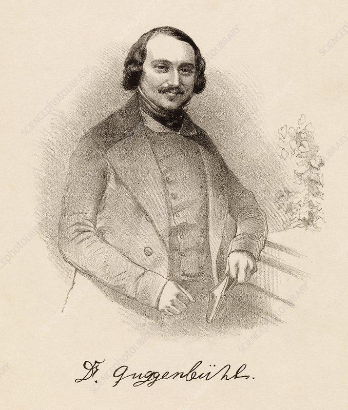 Johann Jakob Guggenbuehl, Swiss physician