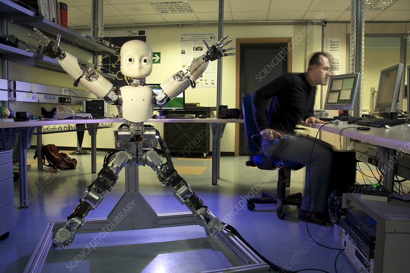 iCub robot design tests