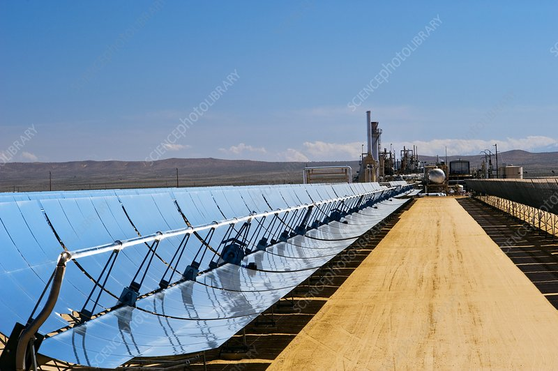 solar power plants in usa. Solar power plant, California,
