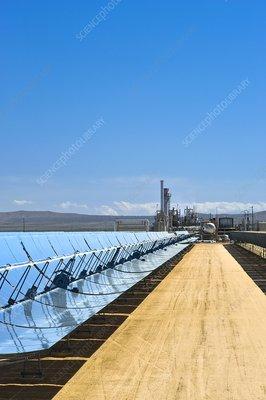 Solar power plant, California, USA