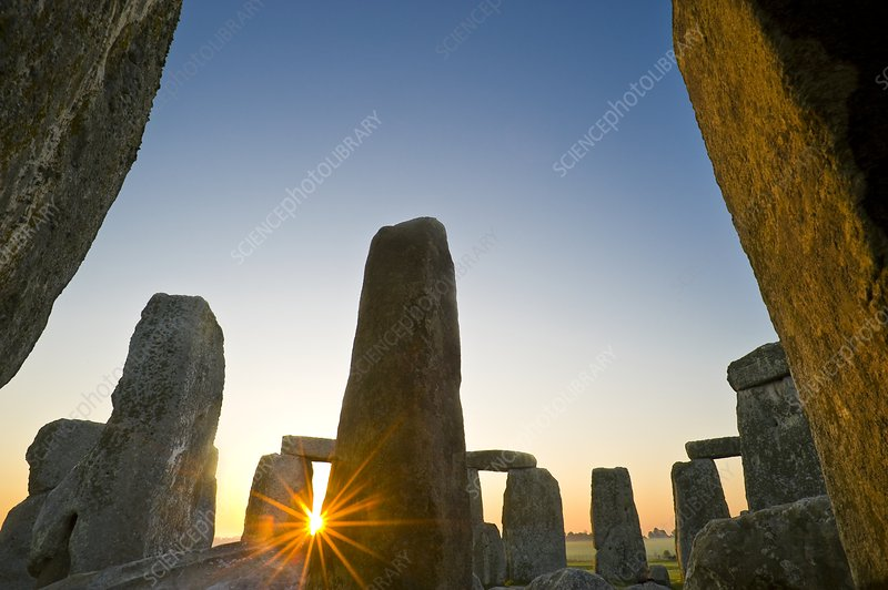 Stonehenge at sunrise