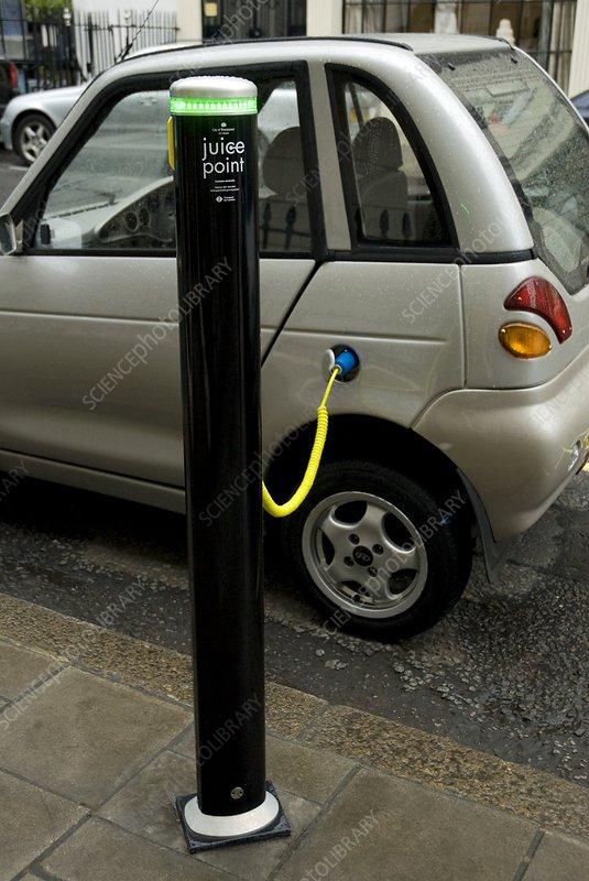 Recharging an electric car