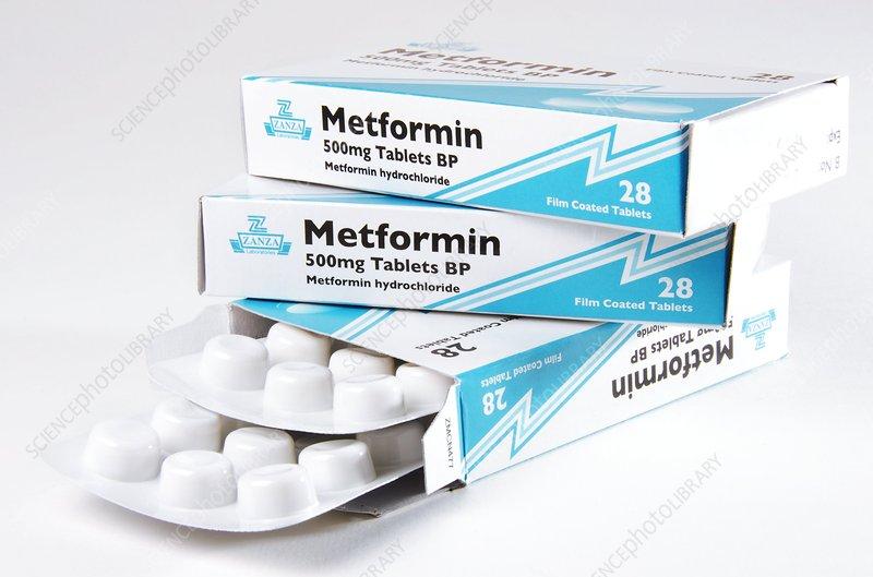 Metformin diabetes drug