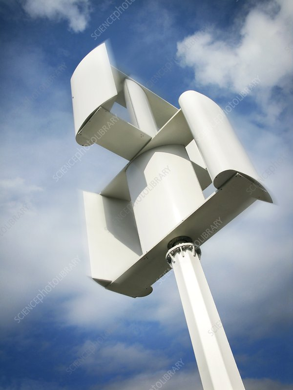Supermarket wind turbine