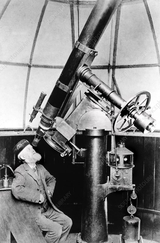 Charles Grover, British astronomer