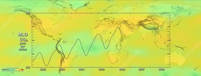 Global carbon dioxide variations, 2006