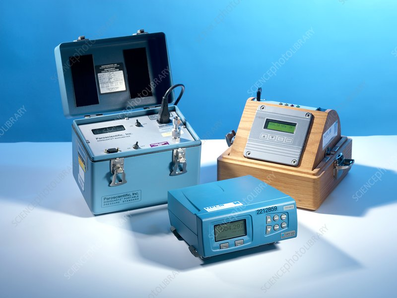 Electronic barometers