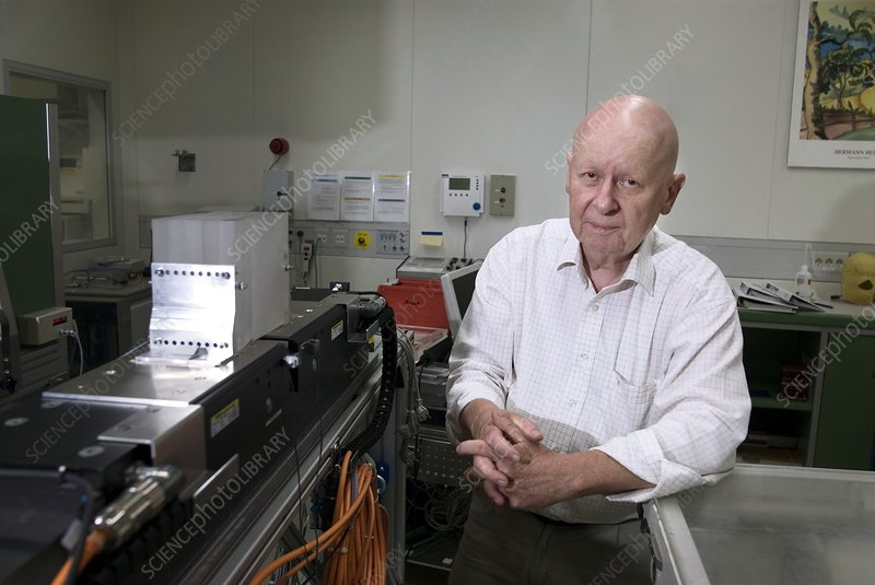 Gerhard Kraft, particle therapy inventor