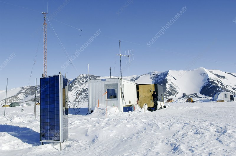 Patriot Hills weather station, Antarctica