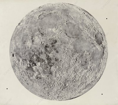 Present-day Moon, Imbrian Period sequence