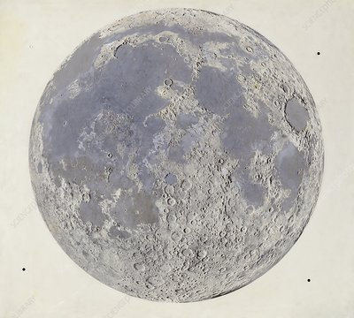Moon at the end of the Imbrian Period