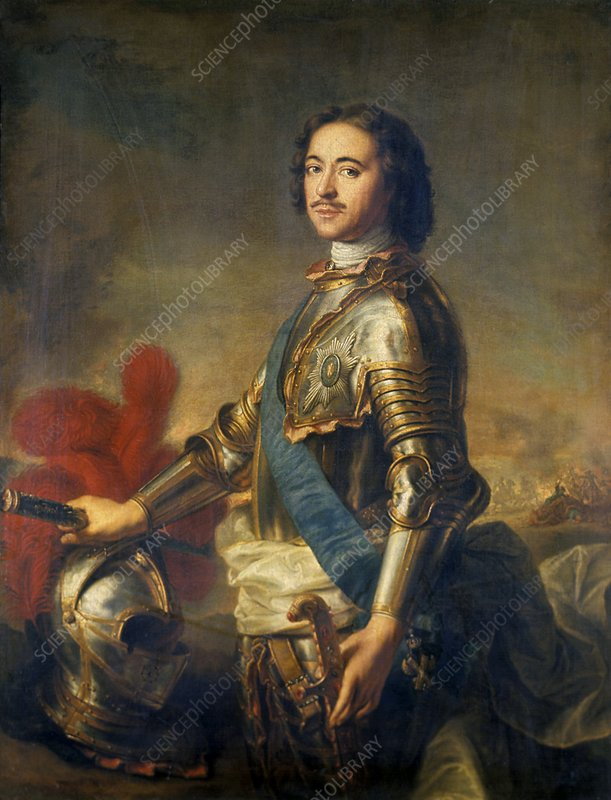Peter the Great, Russian Tsar