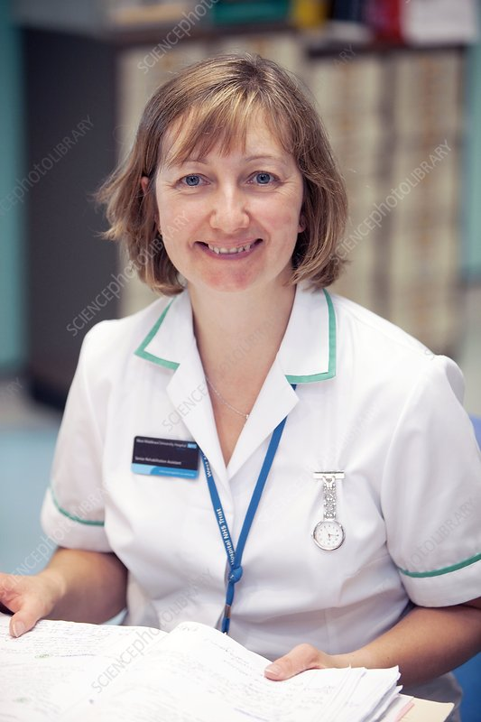 Hospital staff - Stock Image C004/4103 - Science Photo Library