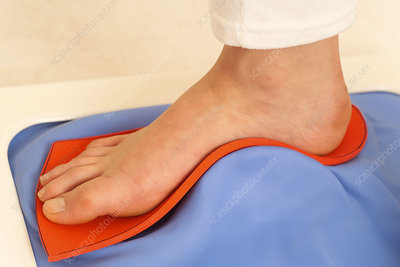 Podiatry consultation for woman