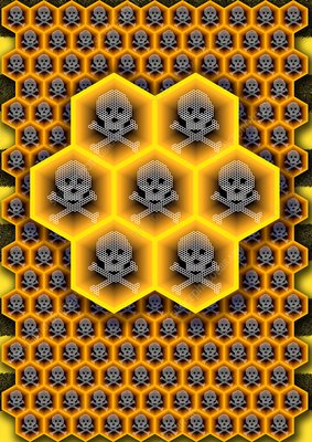 Bee colony collapse disorder, artwork