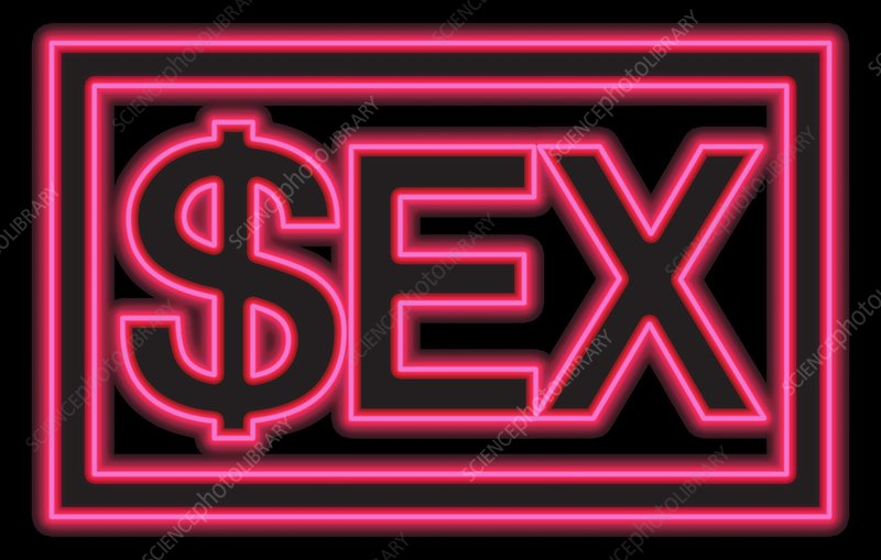 Sex industry, conceptual image