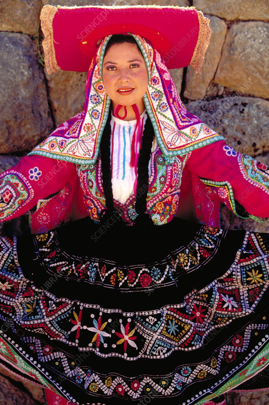 Woman of the Quechua. Cuzco, Peru
