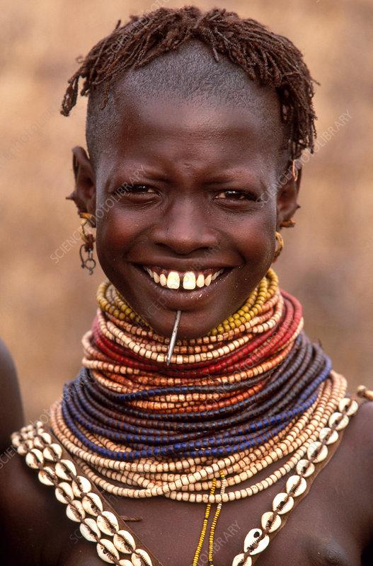 Bumi woman, Ethiopia
