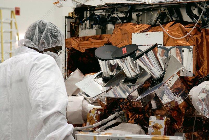 Fermi Gamma-ray Space Telescope assembly