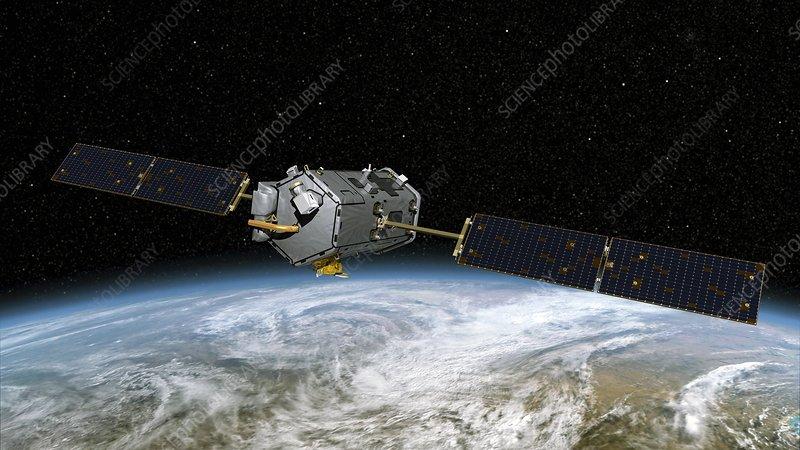 Orbiting Carbon Observatory, artwork