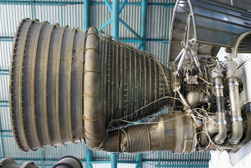 F1 engine on the Saturn V rocket