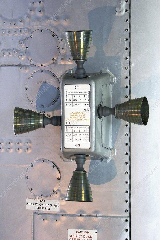Apollo Service Module thruster quad