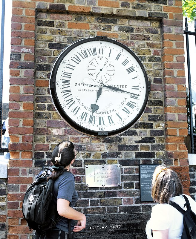 24 hour clock, Greenwich Observatory