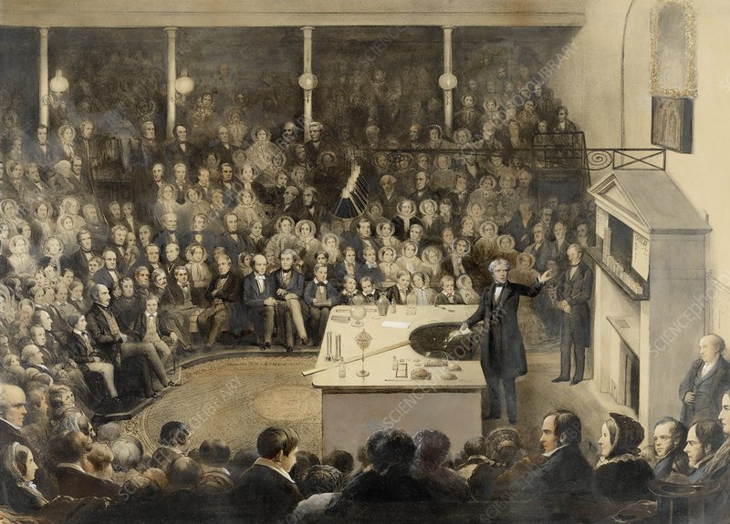 Royal Institution Christmas Lecture, 1855