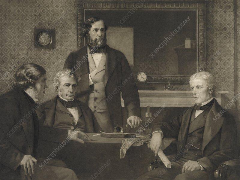Deputation of Royal Society to Faraday