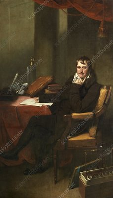 Sir Humphrey Davy, British chemist