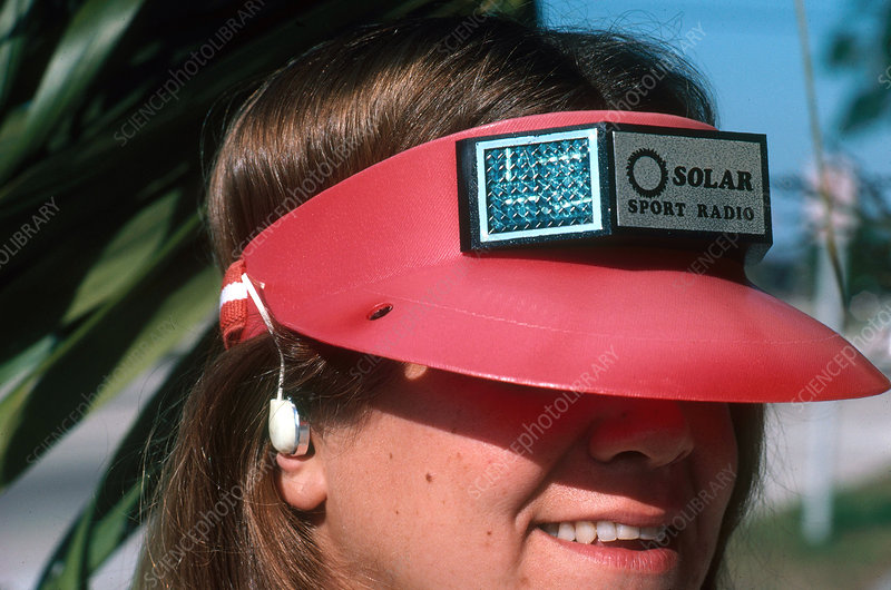 Solar-Powered Hat Radio