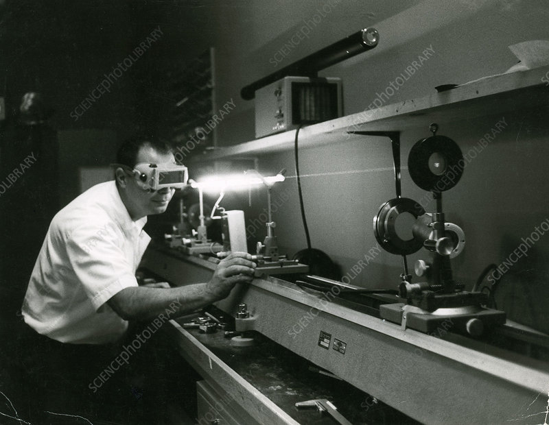 Early Laser Experiment
