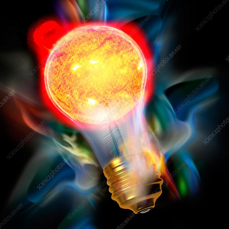 Light Bulb Sun