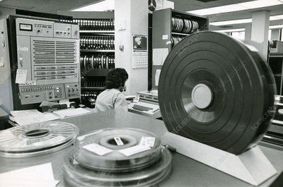 Early Mainframe Computer System