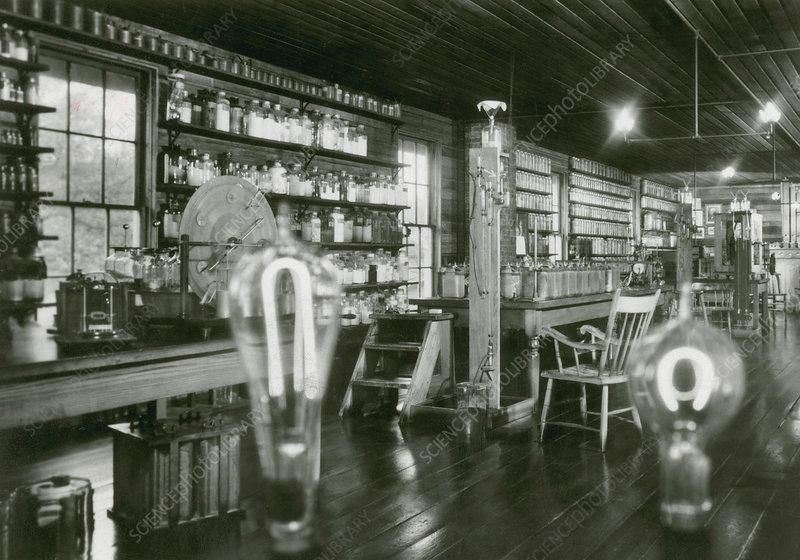 Edison's Menlo Park Lab