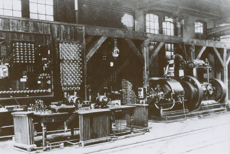 Tesla's and Westinghouse's Lab