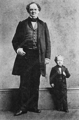 P.T. Barnum and Commodore Nutt